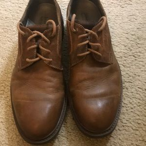 Josef Seibel brown men dress shoes